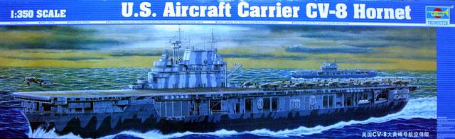Trumpeter 1//350 U.S.S CV-8 Hornet Aircraft Carrier 05601 9580208056012