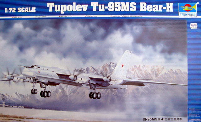 Tupolev Tu 95 Bear H Quicklook Preview By Brett Green Trumpeter 172