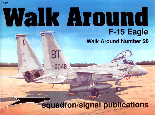 F 15 Eagle Walkaround Book Review By Brett Green Squadron